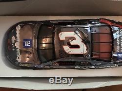 124 Action 1997 #3 Goodwrench Daytona Crash Car Dale Earnhardt Sr Color Chrome