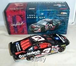 124 Action 1997 #3 Goodwrench Service Daytona 500 Crash Car Dale Earnhardt Sr