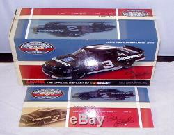 124 Action 2012 1989 #3 Gm Goodwrench Lumina Dale Earnhardt Sr Nascar Classics