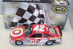 124 Action 2016 #42 Target Michigan 1st Race Win Kyle Larson Autographed 1/288