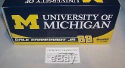 124 Action 2016 #88 University Of Michigan Dale Earnhardt Jr Autographed #19
