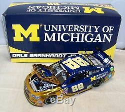 124 Action 2016 #88 University Of Michigan Dale Earnhardt Jr Color Chrome #4/84