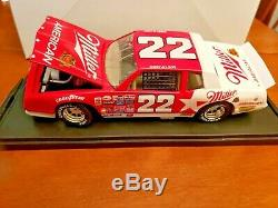 124 Bobby Allison #22 Miller 1985 Monte Carlo 1 Of 2500 RCCA C248516037