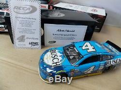 124 Kevin Harvick Autographed Diecast #29 #4 2001 2006 Monte Carlo 2017 Fusion