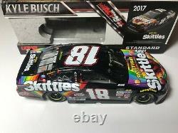#18 Kyle Busch 1/24 2017 Skittles Sweet Heat NASCAR Action Lionel Diecast