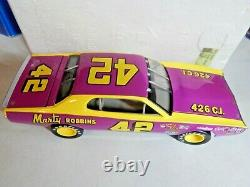 1974 Marty Robbins # 42 Dodge Charger Rcca Elite 1/24 Action Nascar Diecast