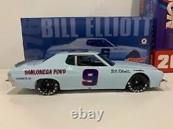 1976 #9 Bill Elliott Dahlonega Ford Torino Blue Car Historical Series