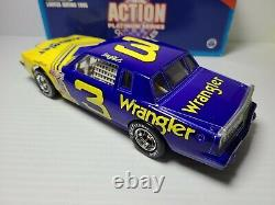 1981 Dale Earnhardt Sr #3 Wrangler Pontiac Grand Prix 124 NASCAR Action MIB