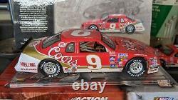 1985 Bill Elliott #9 Coors 1/24 Action Nascar Diecast Autographed
