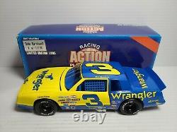 1985 Dale Earnhardt Sr #3 Wrangler Chevrolet Monte Carlo 124 NASCAR Action MIB