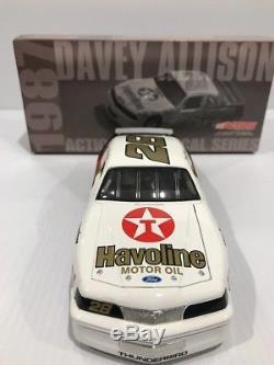1987 Texaco Havoline Davey Allison Ford Thunderbird Rookie Year Hall of Fame