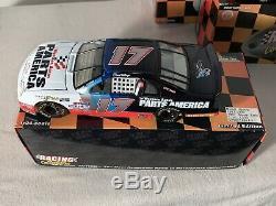 1997 Action 25th Anniversary 7 Car Set 124 Diecast NASCAR Darrell Waltrip #17