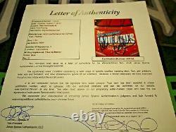 1997 Dale Earnhardt Autographed Signed 1/24 #3 Wheaties Gold Tag Elite Car. Jsa
