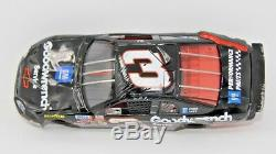 1997 Dale Earnhardt Elite # 3 Goodwrench RACED VERSION Action 124 Wrecked Rare
