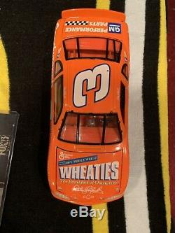 1997 Limited Edition DALE EARNHARDT SR 1/24 WHEATIES Diecast SIGNED AUTOGRAPHED