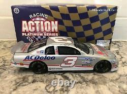 1998 Action Dale Earnhardt Sr and Jr #3 Split Silver 1/24 1 of 624