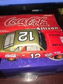 1/24 1974 Coca-Cola Bobby Allison #12 Chevrolet Malibu Historical Series NASCAR