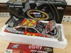 1/24 #24 2012 Jeff Gordon Homestead win raced version action