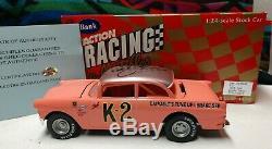1/24 DALE EARNHARDT SR Signed K-2 1956 FORD VICTORIA ACTION NASCAR DIECAST RARE