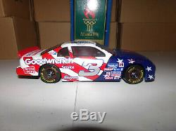 1/24 Dale Earnhardt Sr #3 Gm Goodwrench / U. S. Olympics Autographed 1996 Nascar