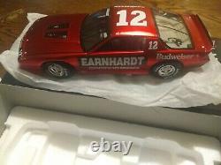 1/24 NASCAR DIECAST Dale Earnhardt # 12 Budweiser 1987 Camaro IROC in Liquid Red