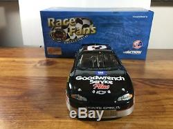 2001 Action QVC DALE EARNHARDT #3 Goodwrench with Sonic Last Diecast Nascar 1/24
