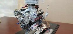 2003 Joe Gibbs Team Engine Signature Series 1/4 Action NASCAR Diecast with display