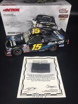 2005 #15 Kyle Busch Ditech Charlotte 1st Truck Win 1/24 Action NASCAR Diecast