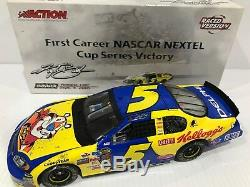 2005 #5 Kyle Busch Kelloggs California First Cup Raced Win 144 Action 1/24