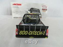 2005 Action Autograph Kyle Busch #15 ditech. Com 20 May 2005 1/24 Diecast Truck