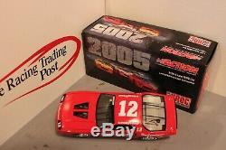 2005 Dale Earnhardt 1987 IROC Budweiser #12 Camaro 1/24 Action NASCAR Diecast