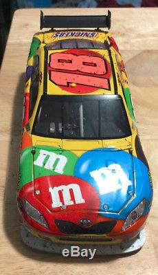 2008 1/24 ARC Kyle Busch #18 M&M's Infineon Win Raced Version Sample