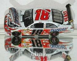 2008 Kyle Busch #18 Snickers ATLANTA RACE WIN AUTOGRAPHED 1/24 car withPhoto Proof
