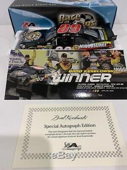 2009 #09 Brad Keselowski Miccosukee Talladega Raced Win Autographed COA