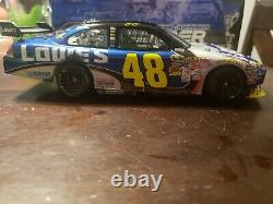 2009 #48 Jimmie Johnson Lowe's Martinsville Win Rare 1/24 Action Diecast #131