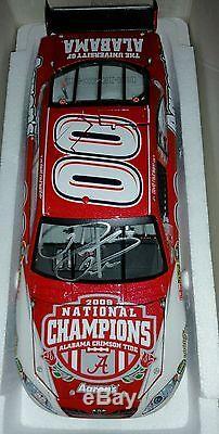 2009 Alabama BCS Champion #00 David Reutimann autographed die cast Aarons Nascar