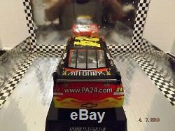 2009 Jeff Gordon Action Autographed Dupont Gatorade Dual Raced Win 124