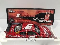2009 Kasey Kahne Budweiser Infineon Win Richard Petty autographed Dodge Charger