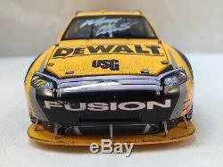 2009 Matt Kenseth #17 Dewalt Daytona 500 Win Autographed 1/24 QVC NASCAR Diecast