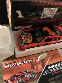 2010 JAMIE MCMURRAY #1 BASS PRO/TRACKER BOATS DAYTONA 500 WIN 1/24 car 1 Of 1978