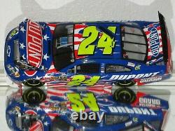 2010 Jeff Gordon #24 DuPont Honoring Our Soldiers 1/24 car#360/2512 RARE VHTF