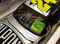 2010 Jeff Gordon SIGNED Dupont Law Enforcement Fund car Hologram & COA