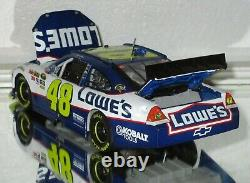 2011 Jimmie Johnson #48 Lowe's AUTOGRAPHED 1/24 car#2999/3184 WOW RARE SIGNED