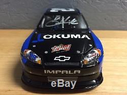 2011 Kevin Harvick #29 Okuma 1/24 Lionel ARC HOTO Autographed