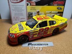 2011 Kurt Busch #22 Shell Infineon Win Dodge 124 NASCAR Action/RCCA Elite MIB