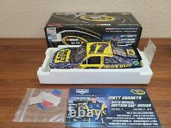 2012 #17 Matt Kenseth Best Buy Daytona 500 Win 1/24 Action NASCAR Autographed
