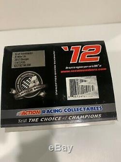 2012 #2 Brad Keselowski Dodge Charger Miller Lite Championship Season Action