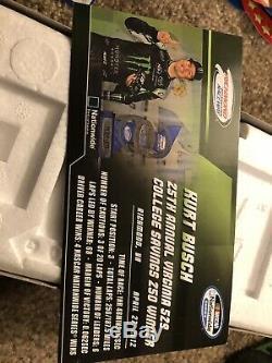 2012 Kurt Busch Monster Energy Richmond Win Raced Version NASCAR 1/24 Diecast