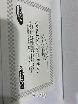 2012 Travis Pastrana #99 Boost AUTOGRAPHED nascar 1/24 COA