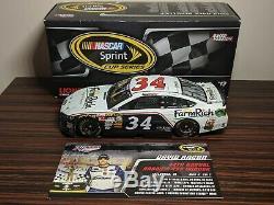 2013 David Ragan #34 FarmRich Talladega Aaron's 499 Race Win 124 NASCAR Diecast